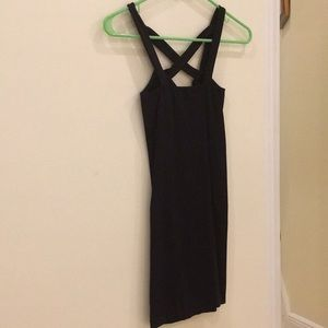 Free People Intimates Mini Dress, Black, Size XS/S